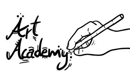 Art Academy Stock Vector - 17618790