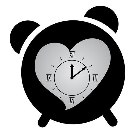 Love clock Stock Vector - 17618808