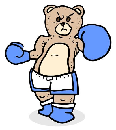 rebellious: Boxing bear