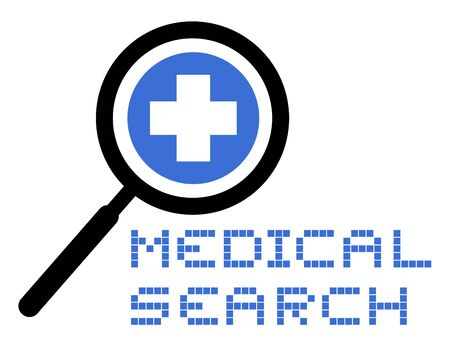 Medical search Stock Vector - 17618794