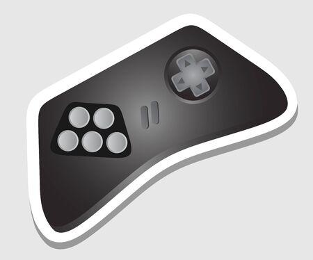 Play sticker Stock Vector - 17618820