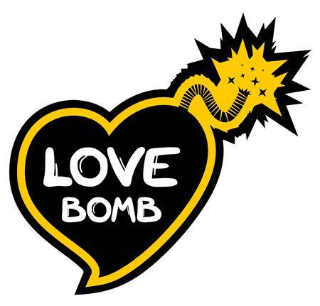 Love bomb Stock Vector - 17701132