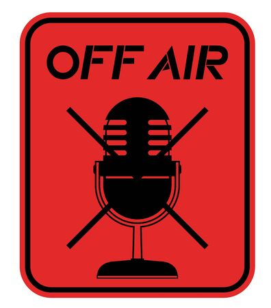 Off air emblem Stock Vector - 17701114
