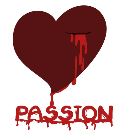 Passion blood Stock Vector - 17701105