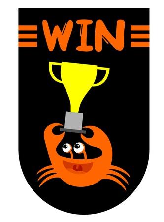 decapod: Win championship Illustration