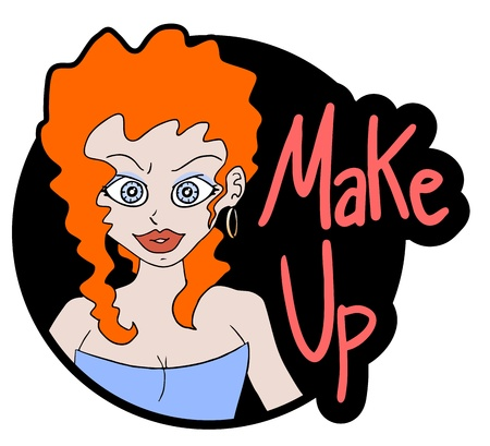 Nice make up Stock Vector - 17896223