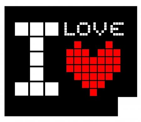 I love symbol Stock Vector - 17896000