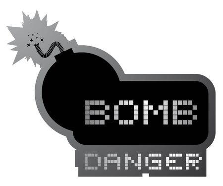 Bomb danger symbol Stock Vector - 17946405