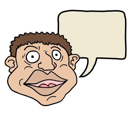 Face comic Stock Vector - 17946368