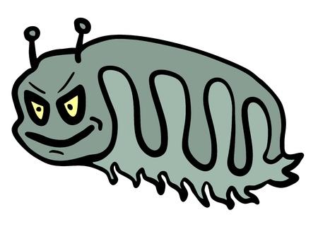 invasive: Rebel worm Illustration