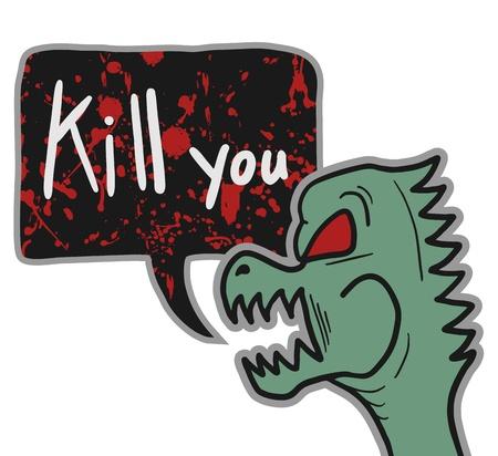 tirade: Kill you Illustration