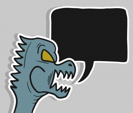 Monster talk Stock Vector - 17946367