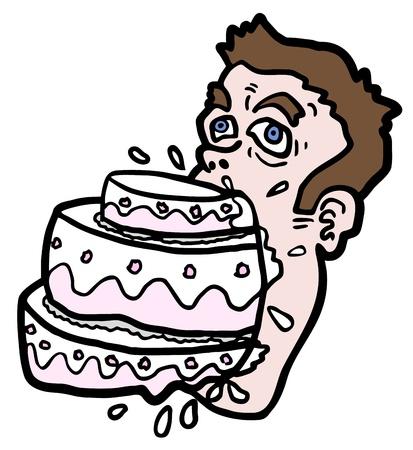 man eater: Tasty hungry man