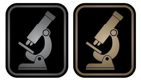 Elegant science emblem Vector