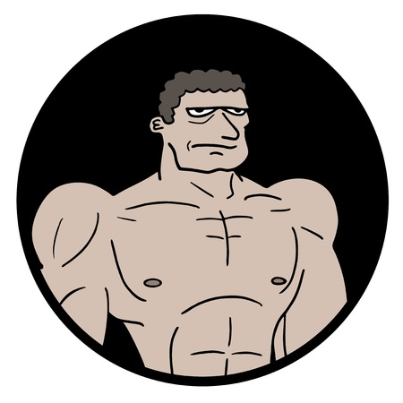 expesive: Muscular hombre