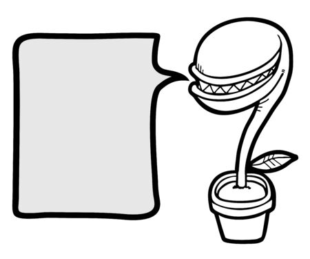 expesive: Planta creativo dibujar