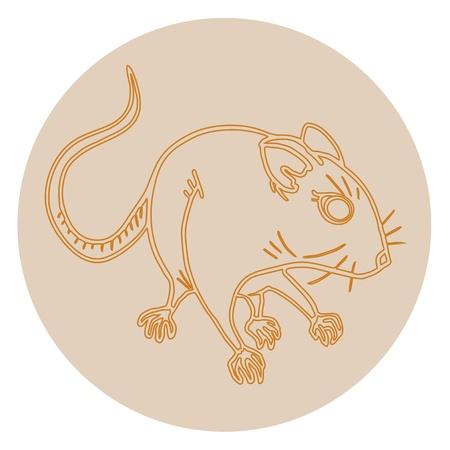 omnivorous: Rat icon