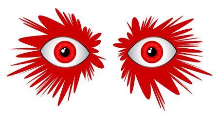 expesive: Ojos asombrosos Vectores