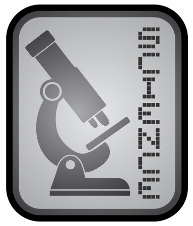 Science icon Stock Vector - 18173335