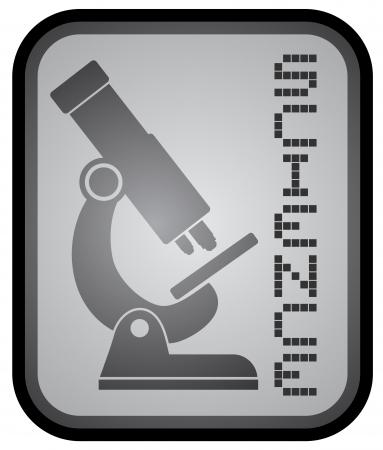 Science icon Stock Vector - 18173335
