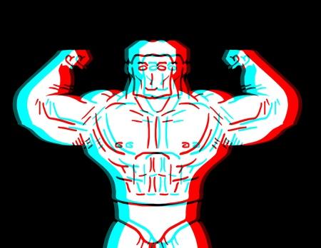 expesive: Hombre fuerte Visual