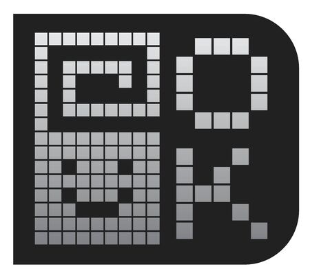 Like pixel icon Stock Vector - 18292825