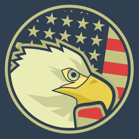 Patriot icon Vector