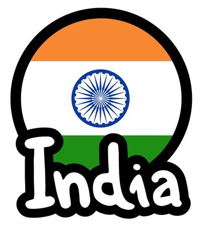 India icon Stock Vector - 18498775