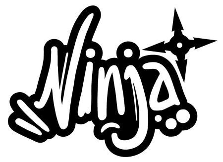 star Wars: Ninja graffiti Illustration