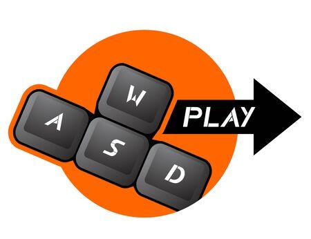 Play icon Stock Vector - 18498803