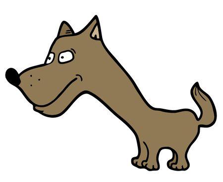 Dog draw Stock Vector - 18498794