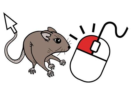 omnivorous: Mouse cursor Illustration