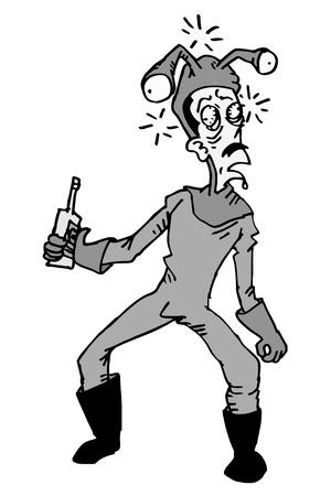 traumatized: Drunk man