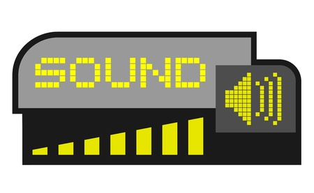 Tech sound Vector