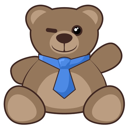 Friend bear Vector