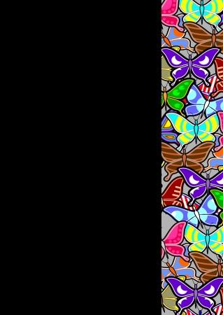 sociable: Color art background Illustration