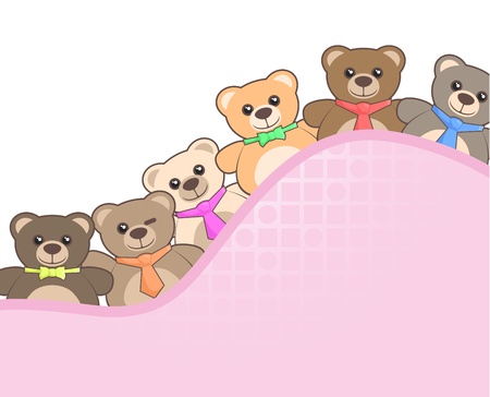 Friends bears Vector