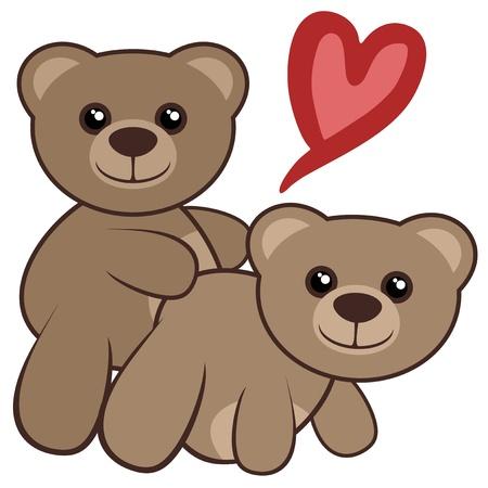 Love bears 免版税图像 - 18633334