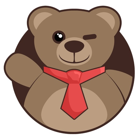Hello fashion bear Vector