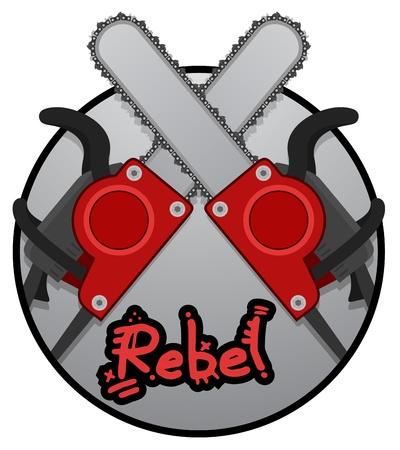 felling: Rebel chainsaw icon