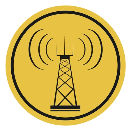 Antenna icon Vettoriali
