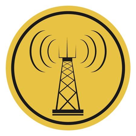Antenna icon Stock Illustratie