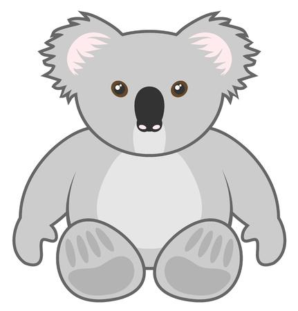 Koala draw Vector