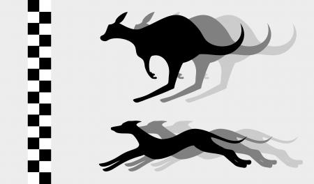 Animal race Stock Vector - 18764499