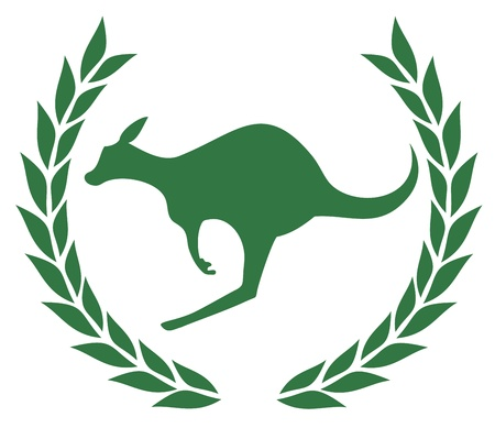 Champion kangaroo Vector