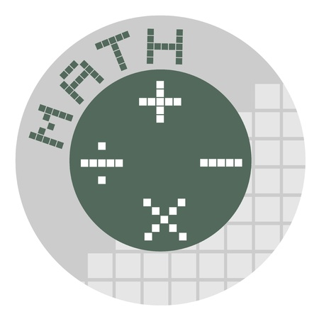 Math symbol Stock Vector - 18750748