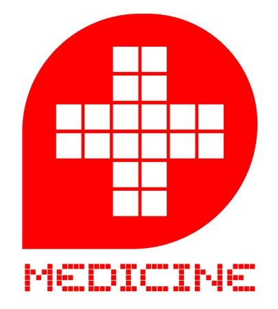 Medicine symbol Stock Vector - 18750749