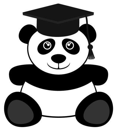 University bear Stock Vector - 18703100