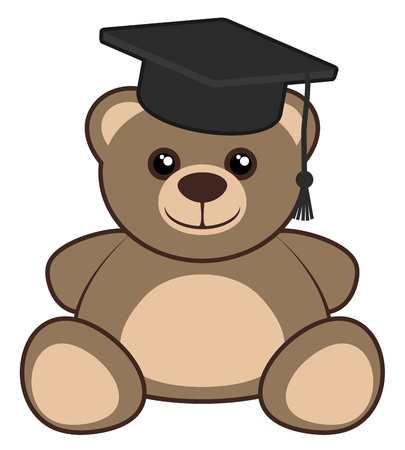 School bear Vector