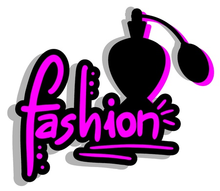 Fashion female lotion Vector
